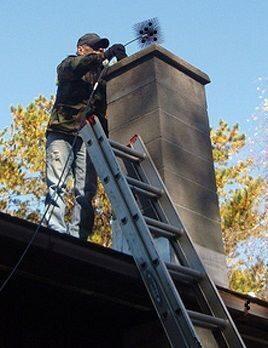 Очистка газовых дымоходов работа с металлочерепицей дымоход