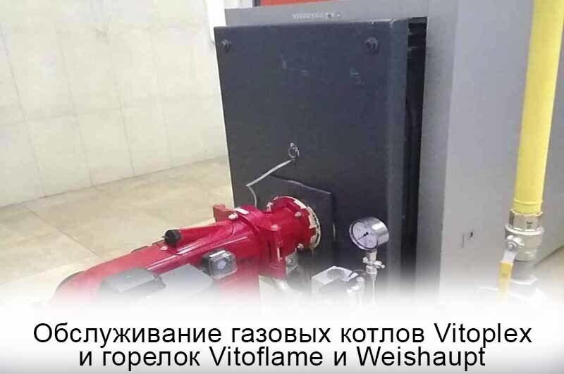 Полный спектр ремонта и обслуживания от специализированного предприятия в Москве для котлов Viessmann