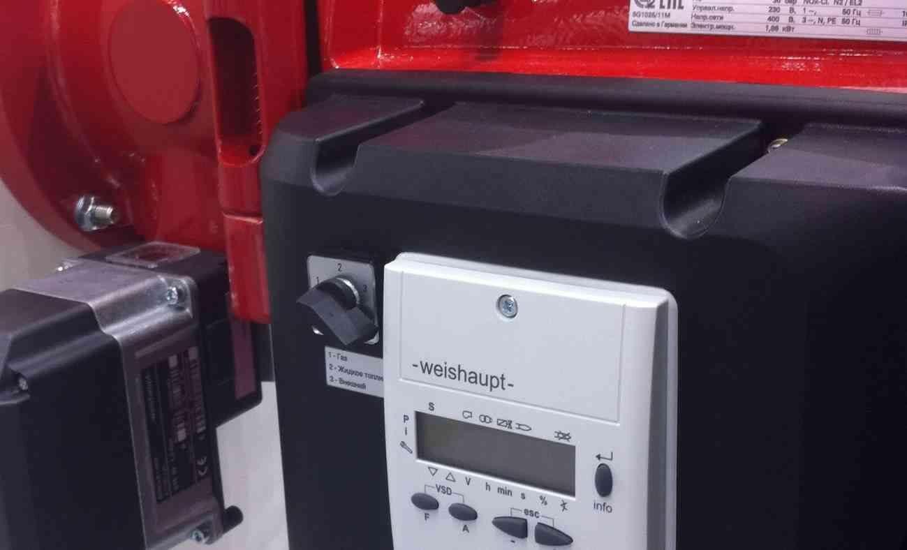 Профилактика и настройка комбинированных газовых горелок Weishaupt