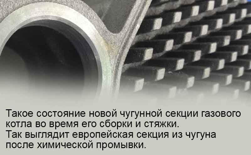 Заказ промывки теплообменника европейского котла с гарантией.